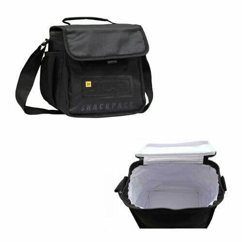 Lunch Bag Insulated  Food Snack pack For Adults Kids Outdoor Work by JCB UK New